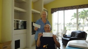 Retired Couple of Boyton Beach that used Advocate Claims as their public adjuster!