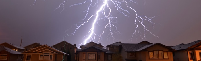 Lightning Safety Awareness Week - Advocate Claims - Lightning Insurance Claims Damage