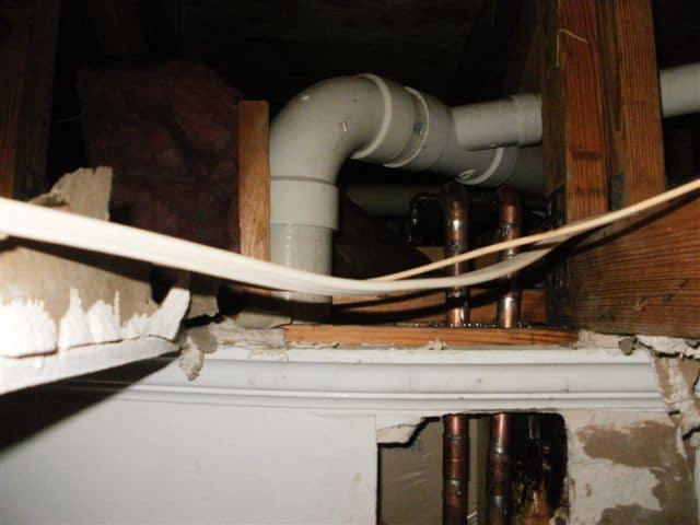Pipe Burst Water Damage