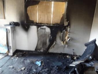 Fire Damage Arson