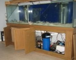 Fish Tank - Water Damage Insurance Claim
