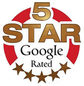 5 Star Google Rated