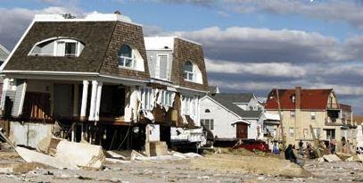 house damaged by Sandy
