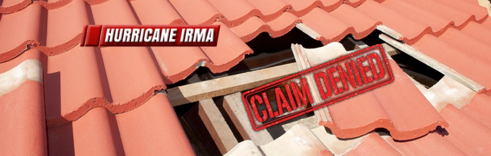 Hurricane Irma Denied Insurance Claims