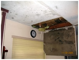 Residential Water Damage Insurance Claim